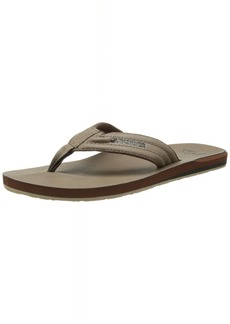 Quiksilver Men's Carver Nubuck 3 Point Sandal /Solid