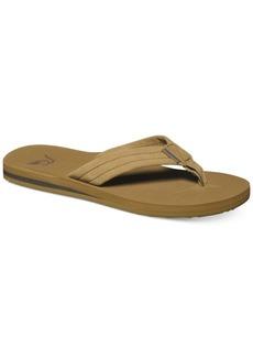 Quiksilver Men's Carver Suede Thong Sandals
