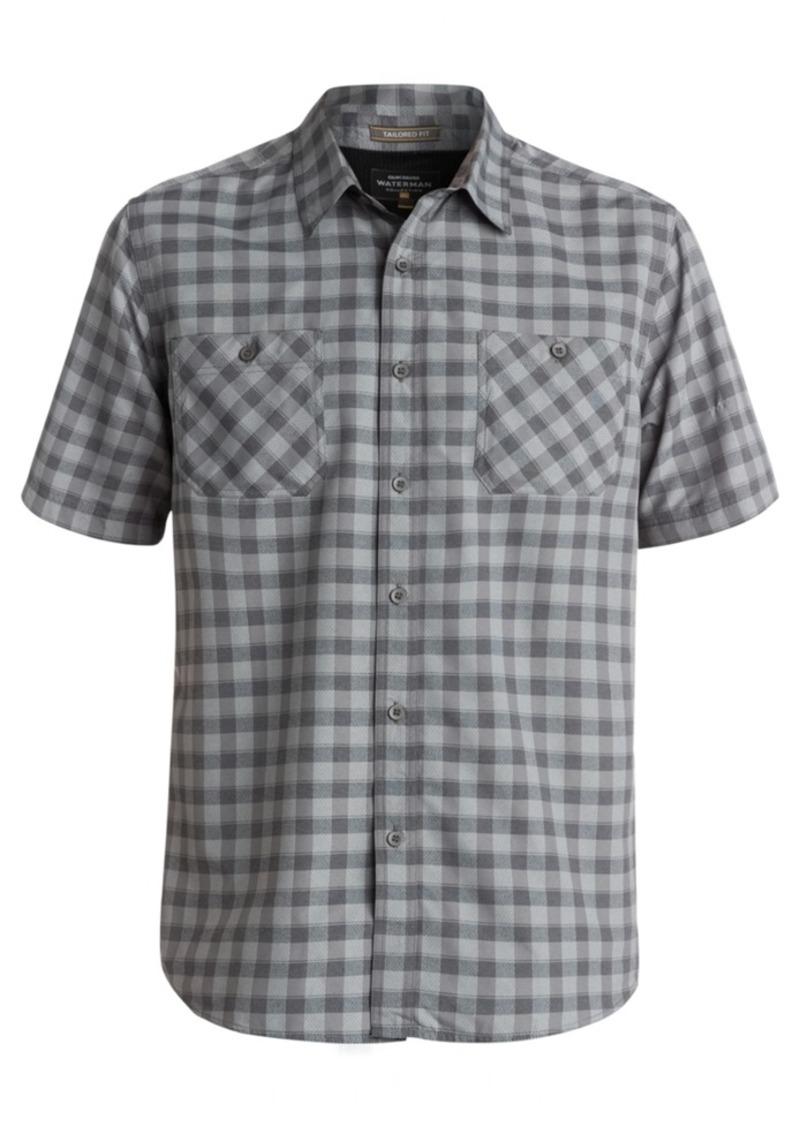 Quiksilver Men's Check Short-Sleeve Shirt