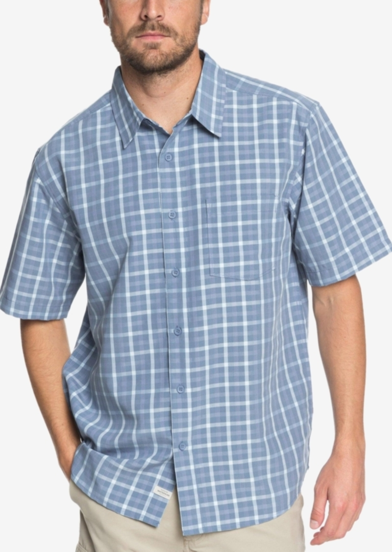 Quiksilver Men's Waterman Checked Light Shirt