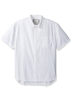 Quiksilver Men's Classics Ss Button Down Shirt  L