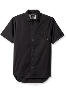 Quiksilver Men's Classics SS Button Down Shirt  L