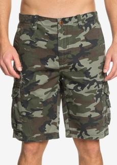 Quiksilver Men's Crucial Camo Shorts