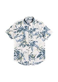 Quiksilver Men's Deep Bay Short Sleeve Shirt