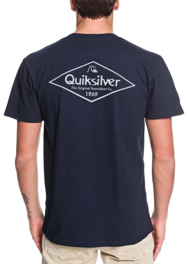 Quiksilver Men's Diamond Tails Short Sleeve T-Shirt