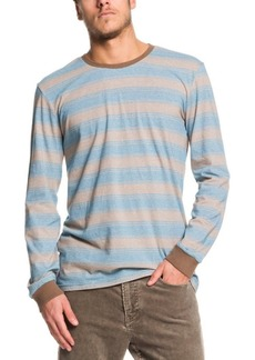 Quiksilver Men's Double Shakka Striped Long Sleeve T-Shirt