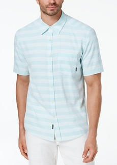 Quiksilver Men's Eggshell Striped Shirt