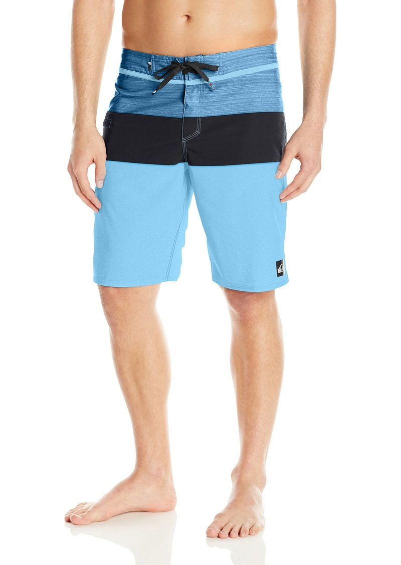 YDXC6FY Mens Board Short with Elastic Waist Drawstring Casual Sports Shorts Moose Chicago Flag Patterned Sportswear