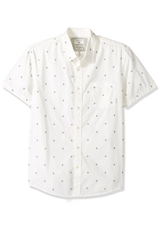 Quiksilver Men's Everyday Mini Motif Short Sleeve Snow