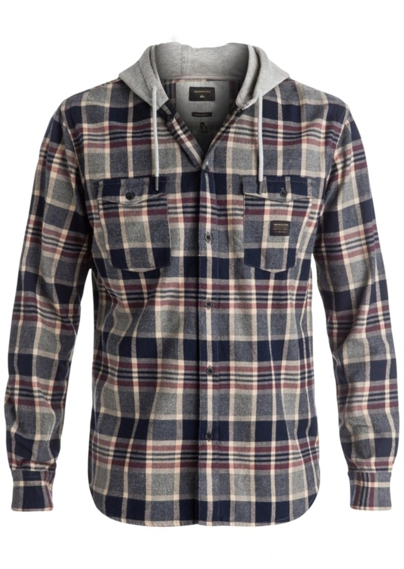 Quiksilver Men's Fellow Player Plaid Shirt