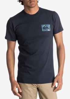 Quiksilver Men's Floral Feels Logo-Print T-Shirt