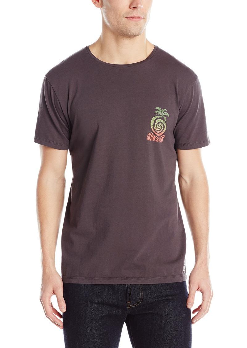 Quiksilver Men's Garment Dyed Short Sleeve Good Vibration T-Shirt