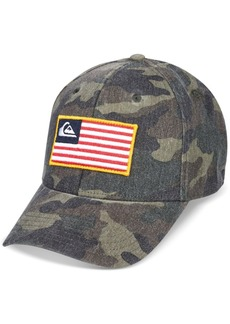 Quiksilver Men's Grounded Camouflage Snapback Hat