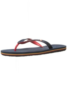 Quiksilver Men's Haleiwa Sandal red/Blue