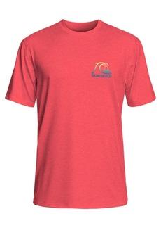 Quiksilver Men's Heritage Surf Logo Graphic Rash Guard