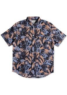 Quiksilver Men's Hippy Beach Tropical-Print Pocket Shirt