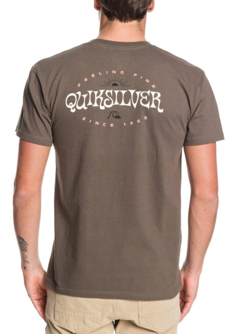 Quiksilver Men's Home Mission Short Sleeve T-Shirt