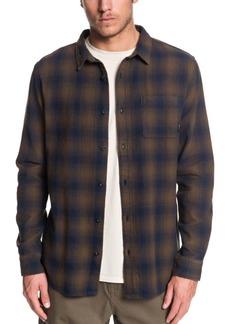 Quiksilver Men's Inca Gold Check Shirt