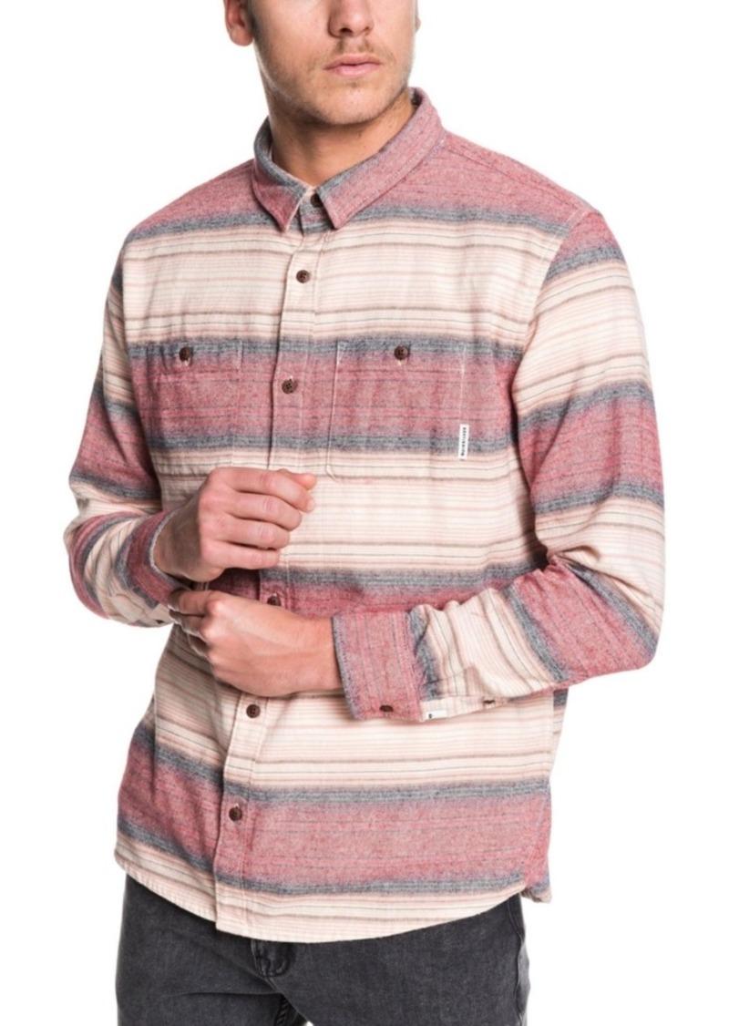Quiksilver Men's Inca Gold Stripe Shirt