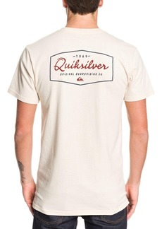 Quiksilver Men's Inside Lines Short Sleeve T-Shirt