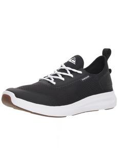 Quiksilver Men's LAYOVER Travel Shoe Skate Black/White