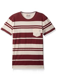 Quiksilver Men's Lokea Knit Tee Shirt Pomegranate