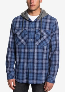Quiksilver Men's Magston Long Sleeve Hooded Shirt
