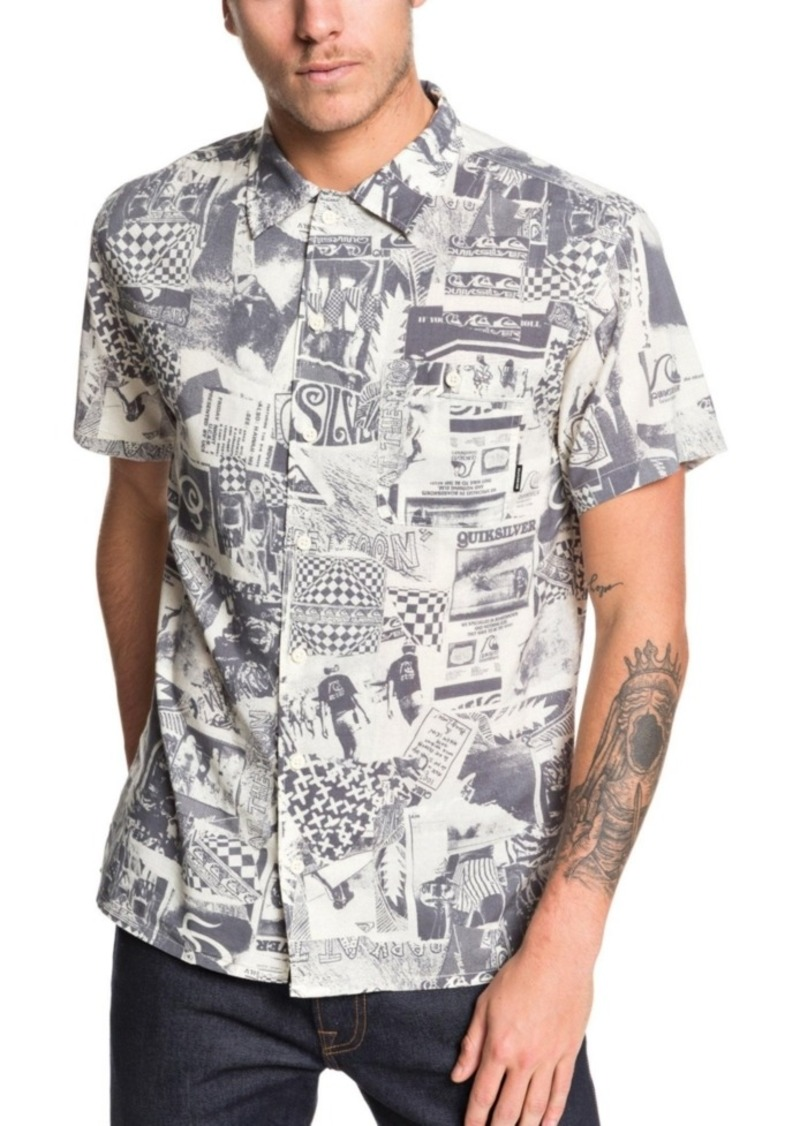 Quiksilver Men's Millers Camp Short Sleeve Woven