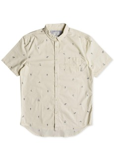 Quiksilver Men's Mini Kamakura Short Sleeve Shirt