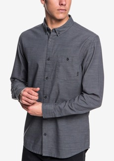 Quiksilver Men's Minoo Valley Modern-Fit Stripe Shirt