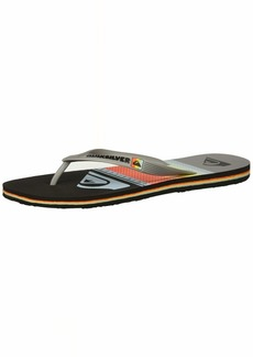 Quiksilver Men's Molokai Highline Slab Sandal Black/Grey