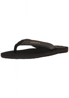 Quiksilver Men's Molokai New Wave Deluxe Sandal   M US