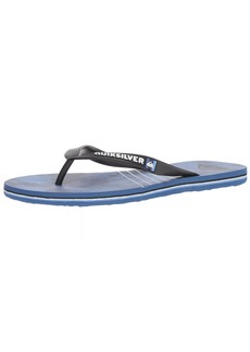 Quiksilver Men's Molokai Shibori Sandal Black Blue