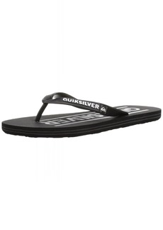 Quiksilver Men's Molokai Wordmark Sandal   M US