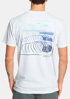 Quiksilver Men's Monster Waves Logo T-Shirt