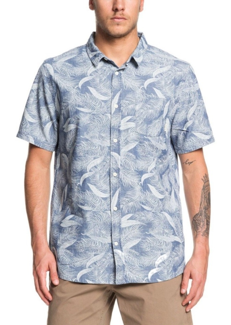 Quiksilver Men's Mountain Ash Short Sleeve Woven Shirt