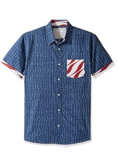 Quiksilver Men's New Merica Short Sleeve Button Down