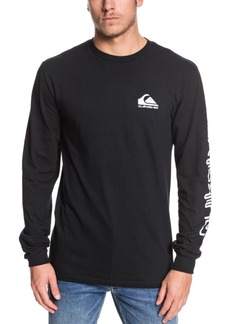Quiksilver Men's Omni Logo Long Sleeve T-Shirt