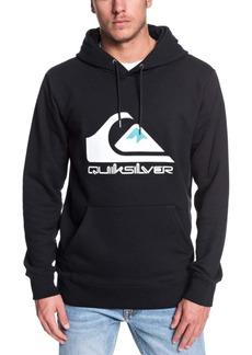 Quiksilver Men's Omni Logo Screen Fleece Hoodie