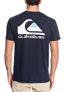 Quiksilver Men's Omni Logo Short Sleeve T-Shirt