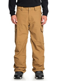 Quiksilver Mens Porter Shell Snow Pant