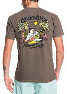 Quiksilver Men's Power Vacation Short Sleeve T-Shirt