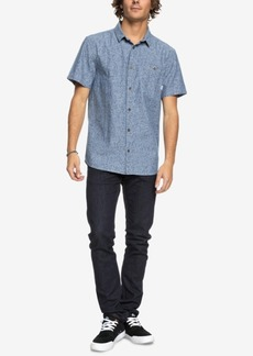 Quiksilver Men's Printed Chambray Shirt