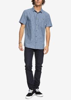 Quiksilver Men's Printed Chambray Shirt