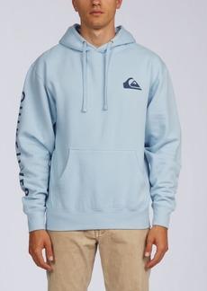 Quiksilver Men's Qs Logo Pullover Hoodie