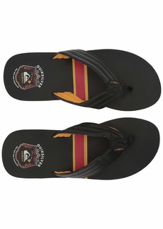 Quiksilver Men's RECLIPSED MWRM Sandal Black/Yellow/red