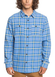 Quiksilver Men's Shadow Sets Flannel Long Sleeve Shirt