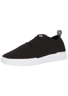 Quiksilver Men's Shorebreak Stretch Knit Sneaker Skate Shoe Black/White 6 D US