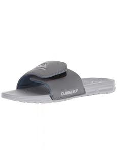 Quiksilver Men's Shoreline Adjust Sandal Grey/Blue  M US