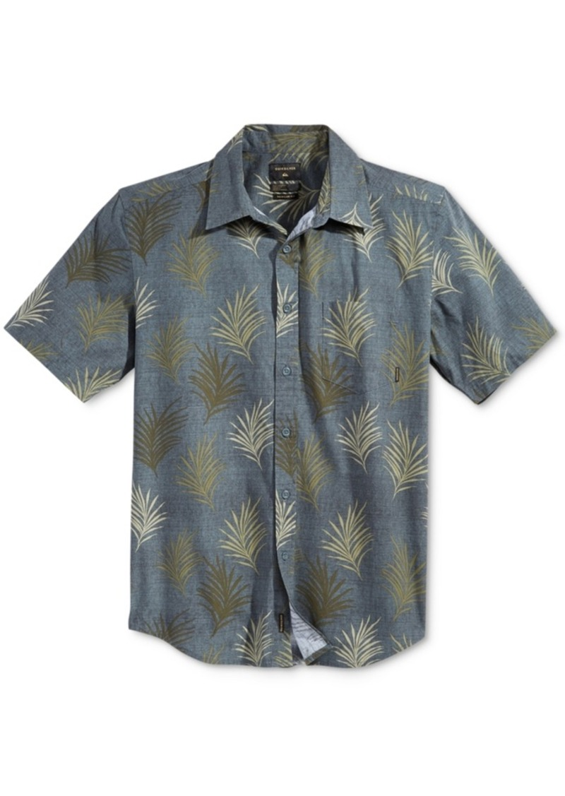 Quiksilver Men's Short-Sleeve Alohaha Shirt